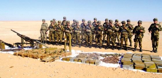 Découvertes de 2 caches, d'un obus pour mortier et de produits explosifs