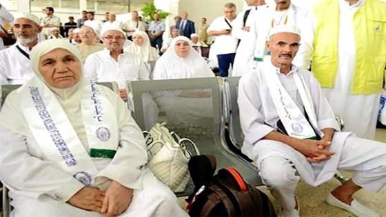 Départ d'Oran du premier groupe de hadjis à destination de Médine