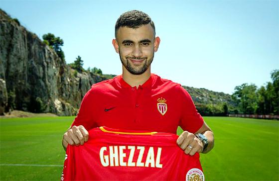 Ghezzal signe pour quatre saisons à l'AS Monaco