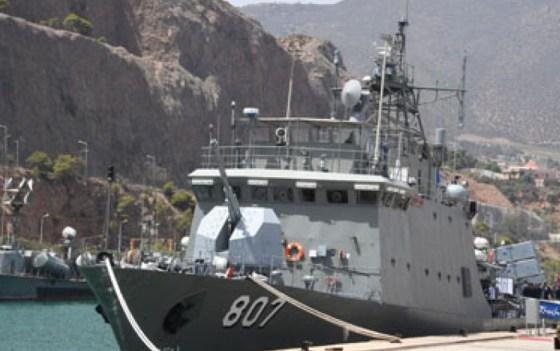 Mise en service de la première corvette fabriquée en Algérie