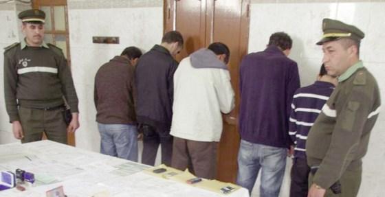 Treize membres d'un dangereux réseau arrêtés à Bougara