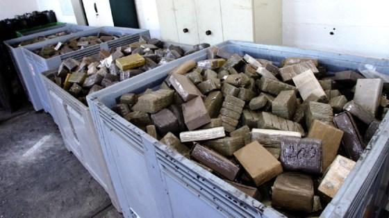 Plus de 30 tonnes de résine de cannabis saisies en six mois