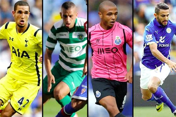 Les internationaux algériens en forme avec leurs clubs