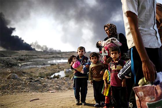 La coalition occidentale a tué 8.000 civils à Mossoul