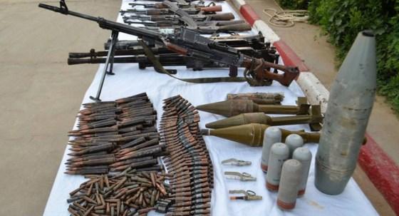 Saisie d'armes et de munitions à Tamanrasset