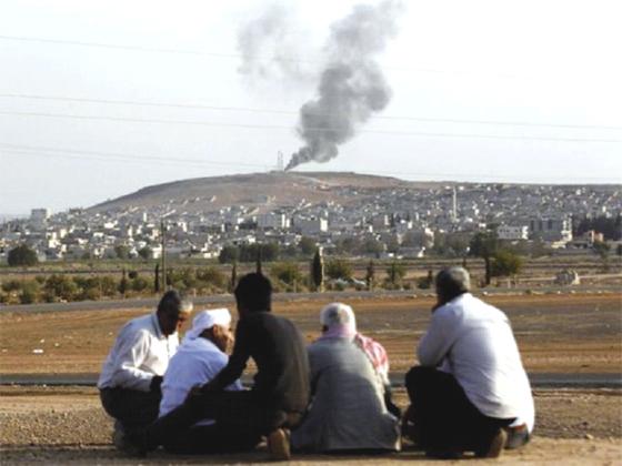 Combats acharnés autour de la ville kurde de Kobané