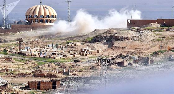 Les USA font obstacle à l'offensive de l'armée syrienne contre Deir ez-Zor