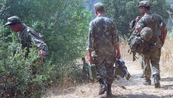 Un terroriste armé arrêté par un détachement de l'ANP