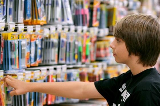 Rentrée scolaire : La quête de la marque malgré le petit budget