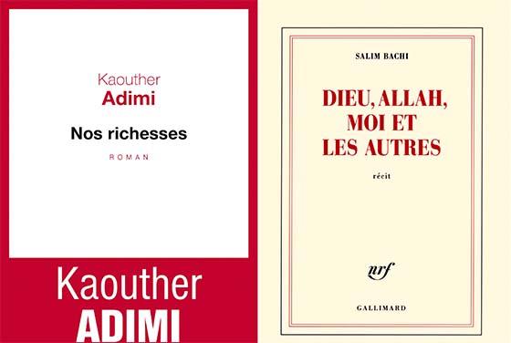 Kaouther Adimi et Salim Bachi en sélection