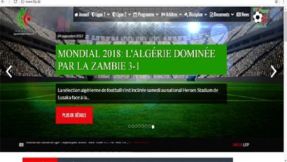 La Ligue de football professionnel lance son nouveau site internet