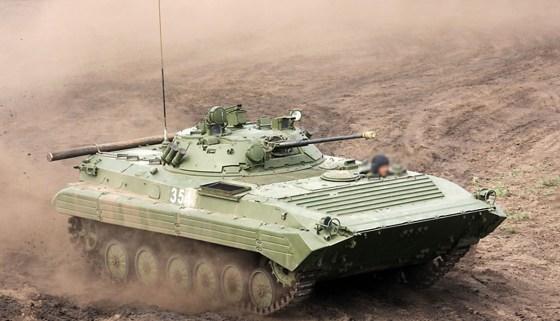 L'Algérie acquiert des véhicules blindés russes BMPT