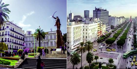 Alger et Tunis résolues à s'imposer comme métropoles méditerranéennes