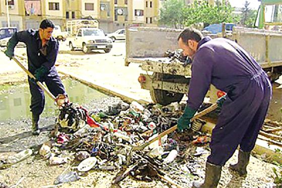 Ksar El Boukhari : Nettoiement des quartiers