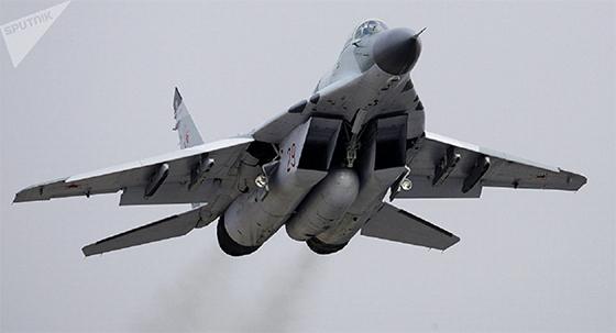 Les MiG-29SMT russes  font leur entrée en Syrie