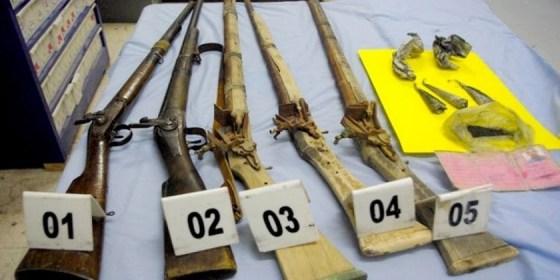 Démantèlement d'un atelier d'armes artisanales à Mascara