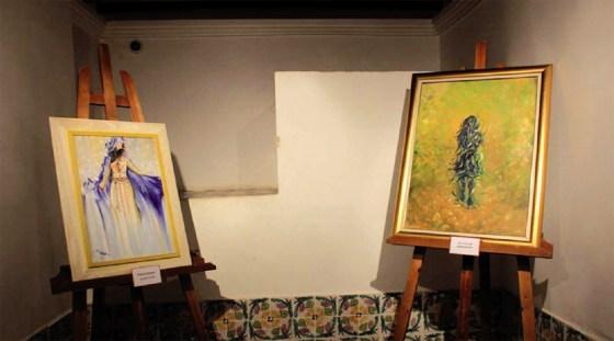 L'artiste peintre Dounia Hedid : «Ne jamais oublier d'où l'on vient..»