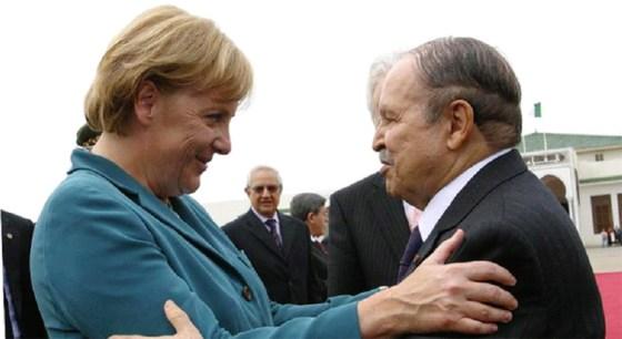 Le président Bouteflika  invite Merkel : le renouveau