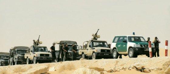 Arrestation de cinq clandestins syriens près de la frontière Libyenne