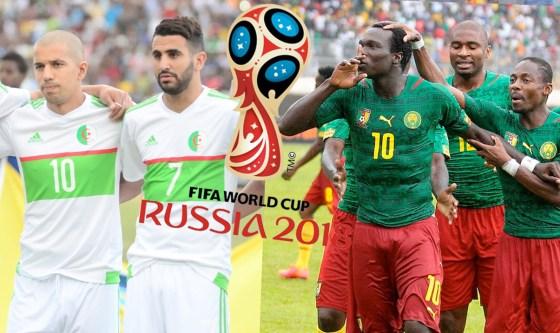 Eliminatoires de la coupe du monde 2018 : Cameroun – Algérie sans enjeux