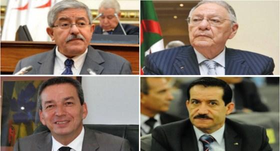 Ouyahia en conclave avec le FLN, le TAJ et le MPA