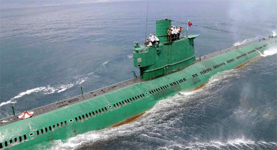 Un deuxième sous-marin nord-coréen, plus performant, est entre en service