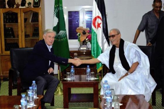 Le président sahraoui s'entretient avec Horst Kohler