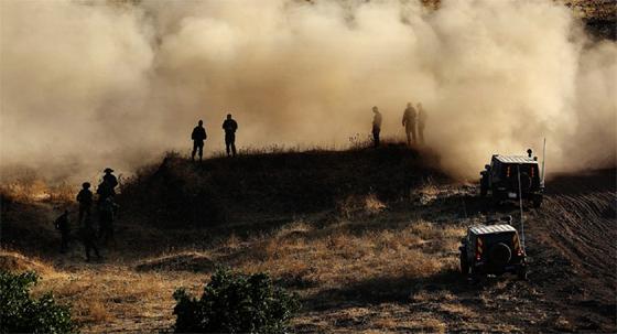 Israël attaque des positions  de l'armée syrienne