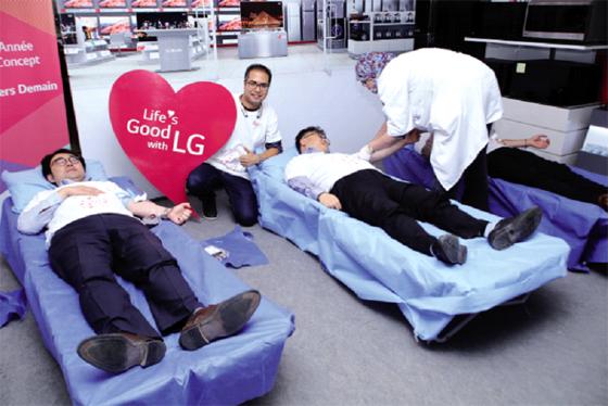 LG participe à la journée du don de sang : Un geste salutaire