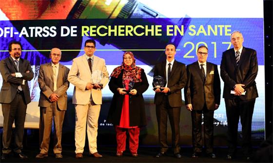 Sanofi et l'ATRSS : Cérémonie de remise des Prix à trois jeunes chercheurs