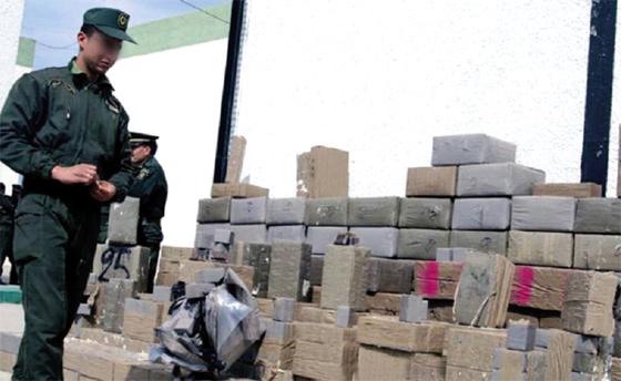 Saisie importante de drogue à Ghardaïa