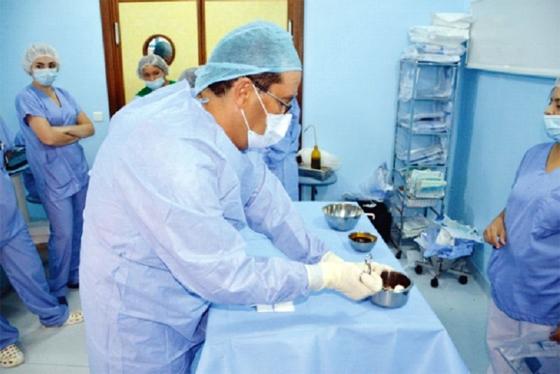 Les médecins formés seront affectés dans diverses villes de l'intérieur du pays
