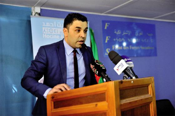 Youcef Aouchiche du FFS élu à la tête de l'APW de Tizi Ouzou