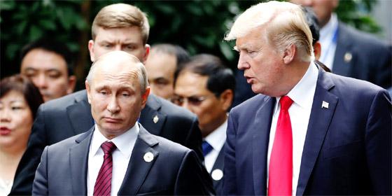 Trump appelle Poutine : «Je vous remercie votre fermeté envers Pyongyang»