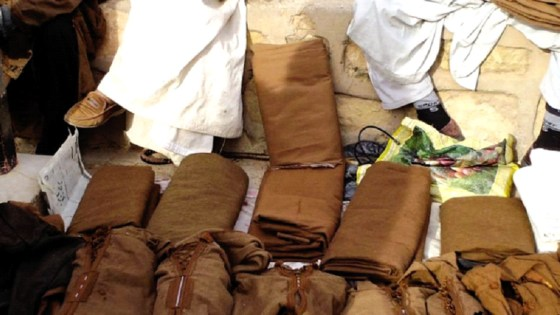 La «kachabia» pour résister à l'hiver à Ghardaïa