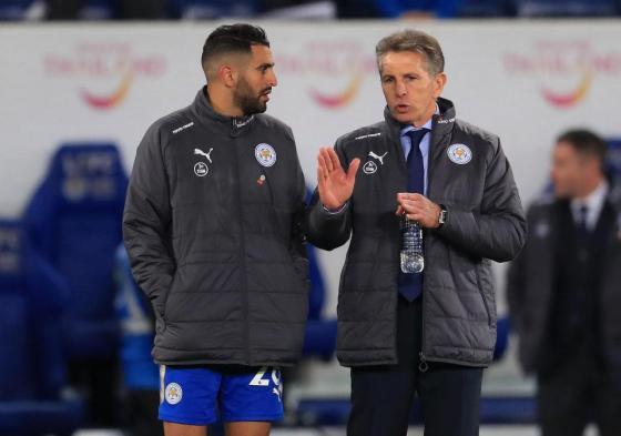 Leicester City : Puel veut garder Mahrez cet hiver