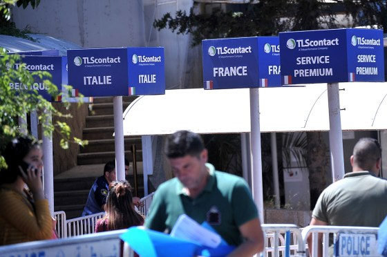 Visas pour la France: nouveau préstataire à Alger
