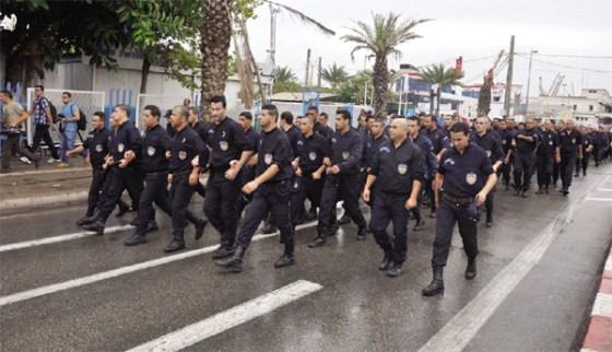 La protestation policière: l'effêt boule de neige