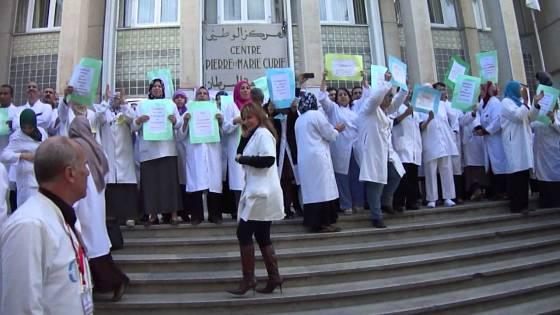 Béjaia:Les paramédicaux à nouveau en grève