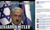 Sur les réseaux sociaux Netanyahu est Satanyahu