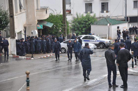 Fin du rassemblement des policiers jeudi en fin de journée