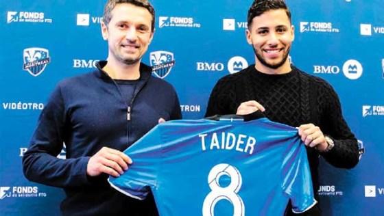 Saphir Taider signe avec l'Impact de Montréal