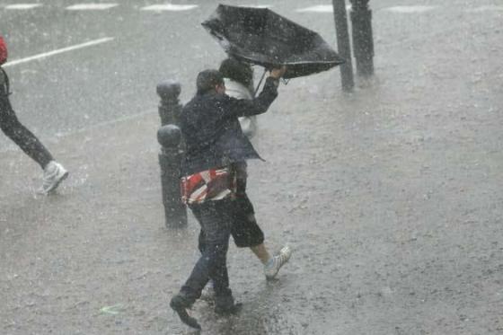 Des pluies et des orages au centre et à l'Ouest du pays