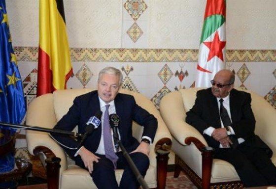 La Belgique veut renforcer ses relations avec l'Algérie