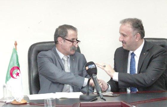 Assaf salue la coopération algéro-palestinienne