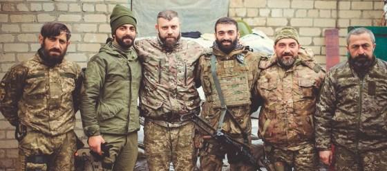 La «légion géorgienne» un escadron de la mort dans la crise ukrainienne
