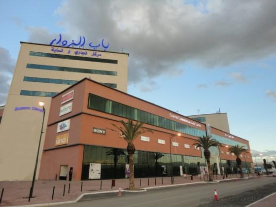 Cambriolage au Cambriolage au Centre commercial de Bab Ezzouarr