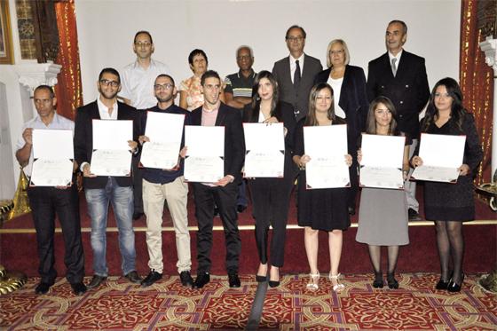 L'IFIRST prime ses huit lauréats