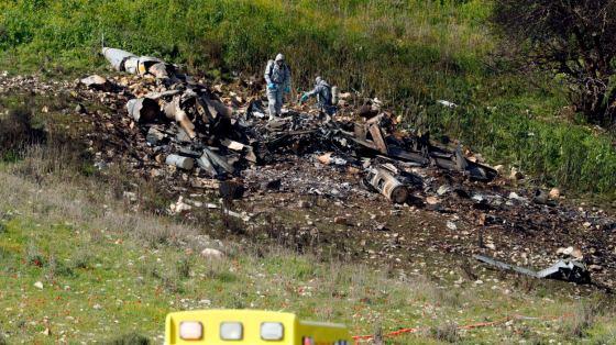 Un avion militaire israélien abattu dans le ciel syrien