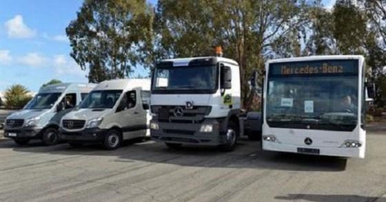 Livraison de 771 véhicules de marque Mercedes Benz